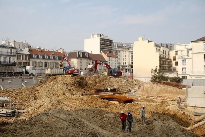Cobat Constructions Chantier Bourg-La-Reine