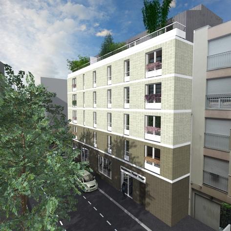 Cobat Constructions Entreprise Generale - Clichy La Garenne Residence Victor Hugo 1