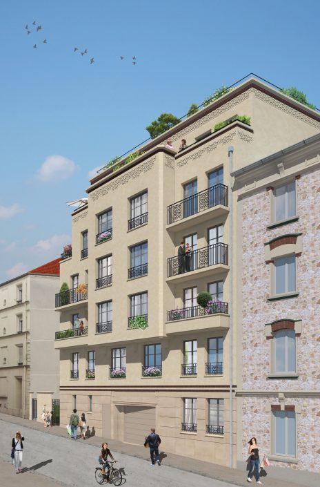 Cobat Constructions Entreprise Générale - Résidence Signature Nogent sur Marne